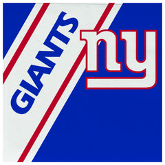 New York Giants Napkins 20 Pack