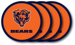 Chicago Bears Vinyl Coasters 4 Pack