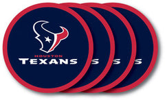 Houston Texans Vinyl Coasters 4 Pack