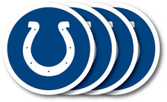 Indianapolis Colts Vinyl Coasters 4 Pack