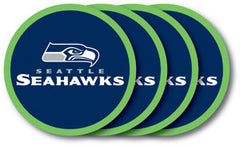 Seattle Seahawks Vinyl Coasters 4 Pack