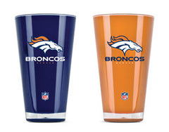 Denver Broncos 2 Pack Insulated Tumbler