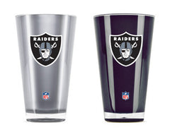 Oakland Raiders 2 Pack Insulated Tumbler