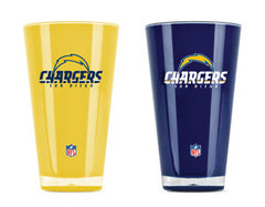 San Diego Chargers 2 Pack Insulated Tumbler