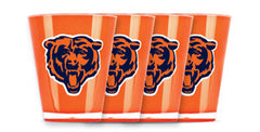 Chicago Bears 4 Pack Insulated Shot Glass