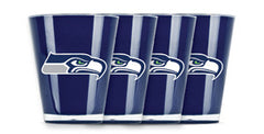 Seattle Seahawks 4 Pack Insulated Shot Glass