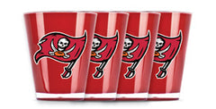 Tampa Bay Buccaneers 4 Pack Insulated Shot Glass