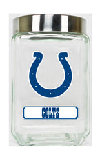 Indianapolis Colts Large Glass Canister