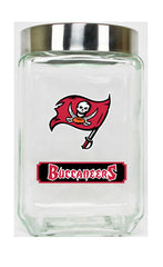 Tampa Bay Buccaneers Large Glass Canister