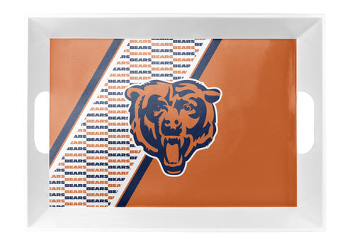 Chicago Bears Melamine Serving Tray