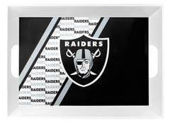 Oakland Raiders Melamine Serving Tray