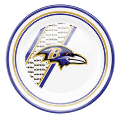Baltimore Ravens Melamine Dinner Plate