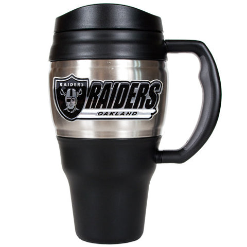 Oakland Raiders 20oz Travel Mug