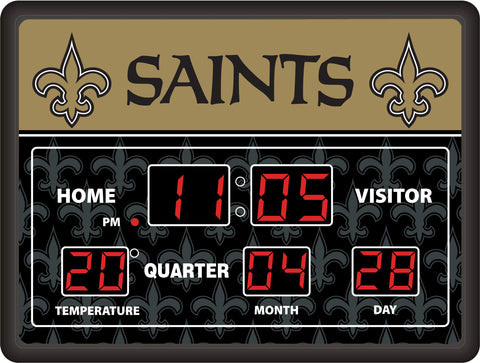 New Orleans Saints Lg Digital Scoreboard