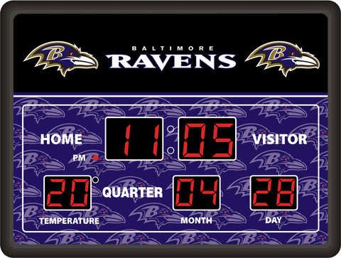 Baltimore Ravens Lg Digital Scoreboard