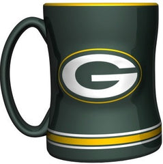 Green Bay Packers Relief Mug