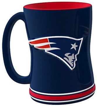 New England Patriots Relief Mug
