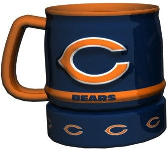 Chicago Bears Barrel Mug