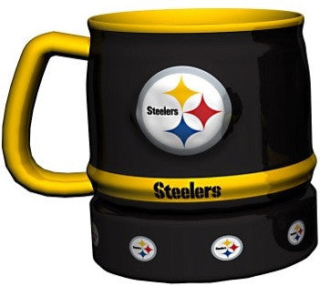 Pittsburgh Steelers Barrel Mug