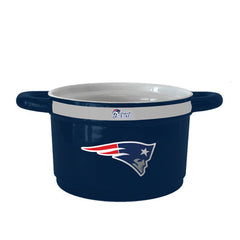 New England Patriots Sculpted Gametime Bowl