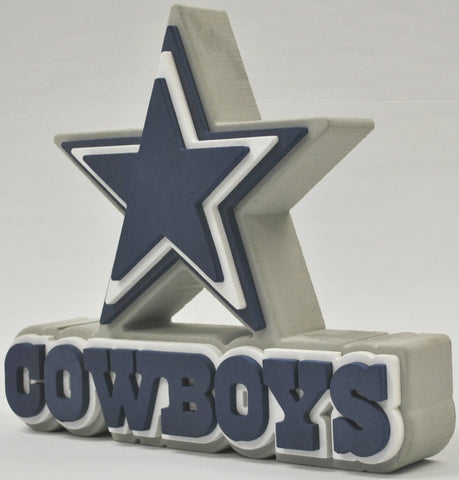 Dallas Cowboys 3D FOAM SIGN