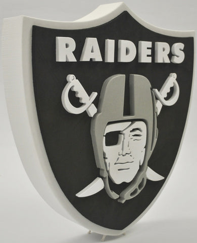 Oakland Raiders 3D FOAM SIGN
