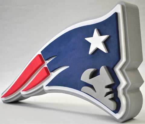 New England Patriots 3D FOAM SIGN