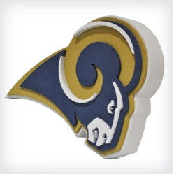 St. Louis Rams 3D FOAM SIGN