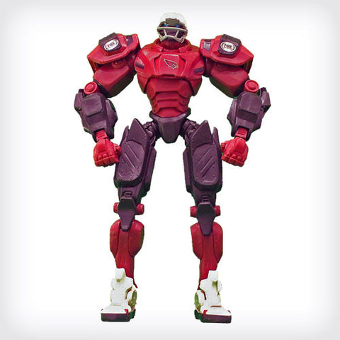 "Arizona Cardinals 10"" TEAM ROBOT"