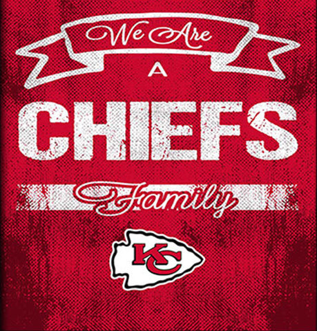 Kansas City Chiefs Family Cheer Framed Art