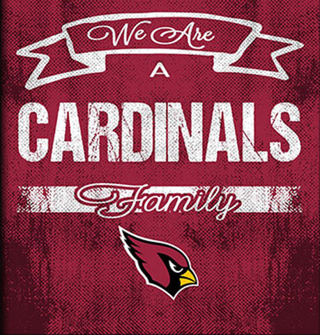 Arizona Cardinals Family Cheer Framed Art