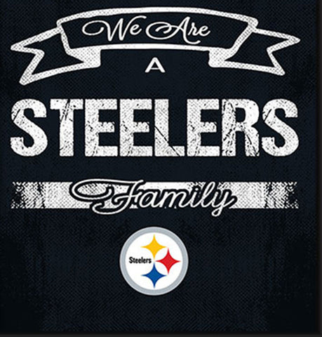 Pittsburgh Steelers Family Cheer Framed Art