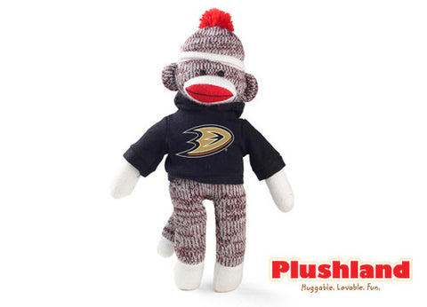 "8"" Sock Monkey  - DUCKS"