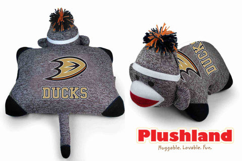 Sock Monkey Pillow  - DUCKS