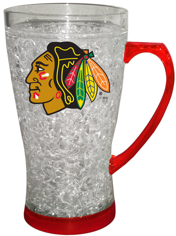 Chicago Blackhawks Flared Freezer Mug