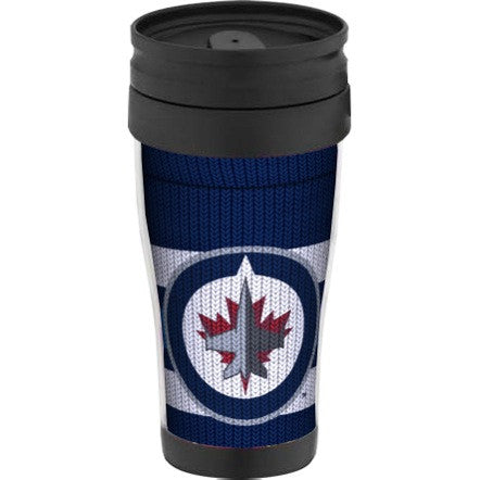 Winnipeg Jets Sock Travel Mug w/ Handle