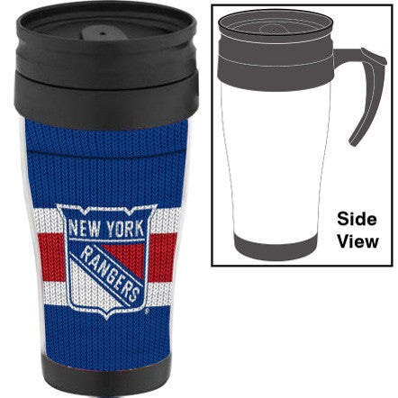 New York Rangers Sock Travel Mug w/ Handle