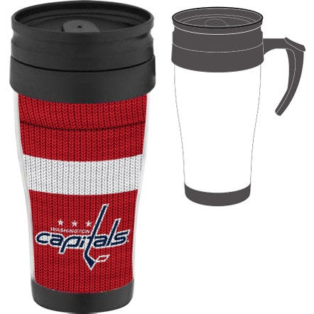Washington Capitals Sock Travel Mug w/ Handle