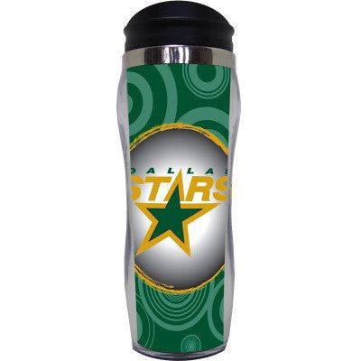 Dallas Stars Circle Travel Mug
