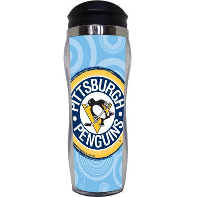 Pittsburgh Penguins Circle Travel Mug