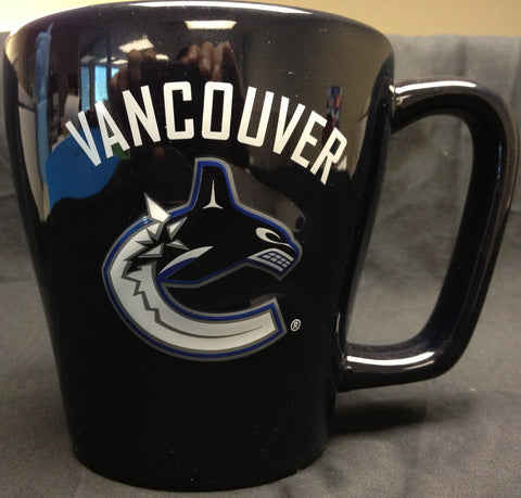 Vancouver Canucks Centre Ice Sculpted Mug