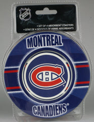 Montreal Canadiens **Absorbent Coasters 4pk