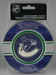 Vancouver Canucks **Absorbent Coasters 4pk