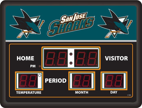 San Jose Sharks LG Digital Scoreboard
