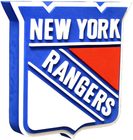 New York Rangers 3D Foam Sign