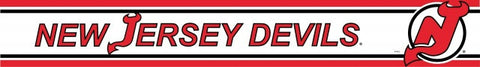 New Jersey Devils Wall Border