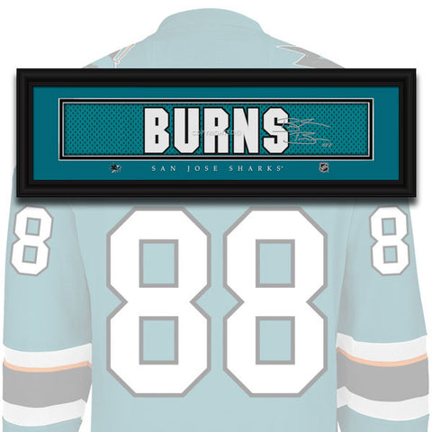 Brent Burns jersey