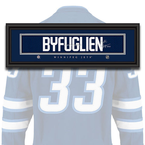 Winnipeg Jets - Dustin Byfuglien - NHL Jersey Patch