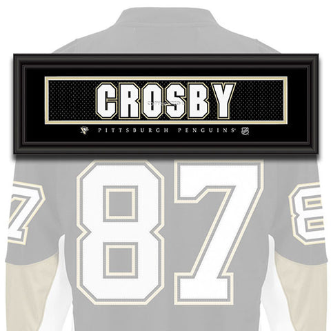 Pittsburgh Penguins - Sidney Crosby - NHL Jersey Patch
