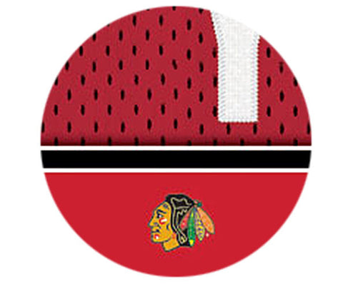 NHL Personalized Jersey Name Print - Chicago Blackhawks